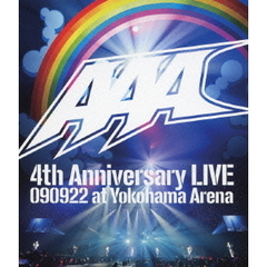AAA/AAA 4th Anniversary LIVE 090922 at Yokohama Arena(Blu-ray Disc)