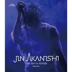 赤西仁/JIN AKANISHI LIVE 2017 in YOYOGI ~Resume~(Blu-ray Disc)