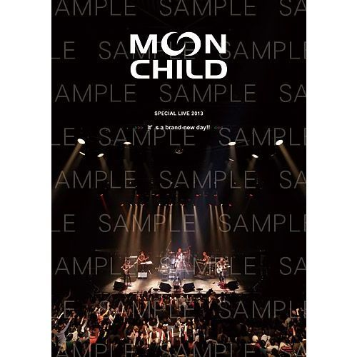 MOON CHILD Special LIVE 2013 「It's a brand-new day!!」【パーソナルブック】