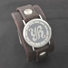 原由実 × Red Monkey Designs Collaboration Wristwatch LADIES/CHOCOLATE