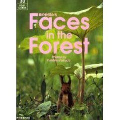 Faces in the forest 森の仲間たち