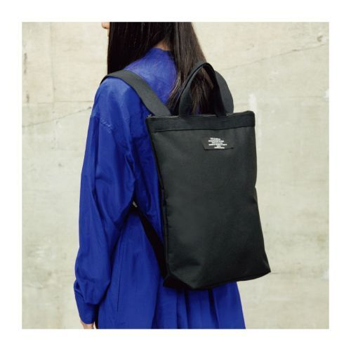 ZUCCa 2WAY BACKPACK BOX BOOK 画像 E