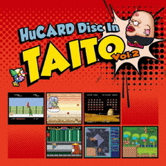 HuCARD Disc In TAITO Vol.2