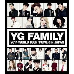 YG FAMILY WORLD TOUR 2014 -POWER- in Japan(Blu-ray Disc)