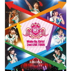 Wake Up Girls!/Wake Up Girls! 2nd LIVE TOUR 行ったり来たりしてごめんね(Blu-ray Disc)