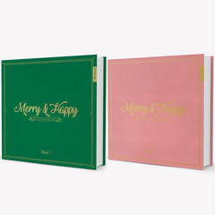 TWICE(トゥワイス)/1ST REPACKAGE ALBUM:MERRY&HAPPY(輸入盤)