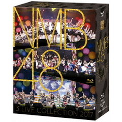 NMB48/NMB48「NMB48 3 LIVE COLLECTION 2017」【BD 3枚組】(Blu-ray Disc)