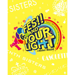 Tokyo 7th シスターズ/t7s 4th Anniversary Live -FES!! AND YOUR LIGHT- in Makuhari Messe【通常盤】<セブンネット限定特典:デカ缶バッチ付き>(Blu-ray Disc)