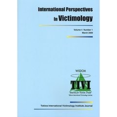 International Perspectives In Victimology Volume4Number1(2009March)