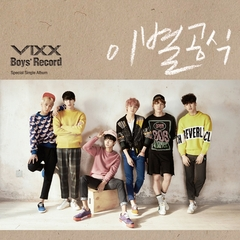 VIXX/SPECIAL SINGLE : BOY'S RECORD(輸入盤)