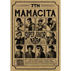 SUPER JUNIOR/7TH ALBUM : MAMACITA B-VER.(輸入盤)