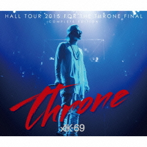 HALL TOUR 2015 FOR THE THRONE FINAL-COMPLETE EDITION-(DVD付)