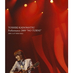 "角松敏生/TOSHIKI KADOMATSU Performance 2009 ""NO TURNS"" 2009.11.07 NHK HALL(Blu-ray Disc)"