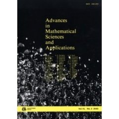 Advances in mathematical sciences and applications Vol.15,No.2(2005)