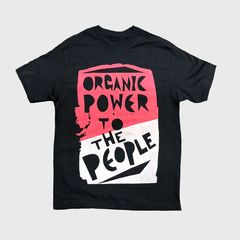 【FUJI ROCK'18】FRF'18 Organic Power T Mサイズ BLACK