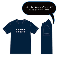 Little Glee Monster/5th Celebration Tシャツ~半袖篇/ネイビー