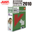 Kaspersky Internet Security 2010 10台版(PCソフト)