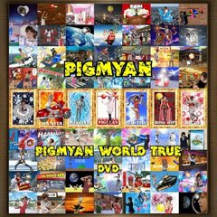 PIGMYAN/PIGMYAN WORLD TRUE(特典:七頬神ステッカー)(DVD)