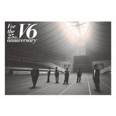 V6/For the 25th anniversary Blu-ray 通常盤 特典無し(Blu-ray)