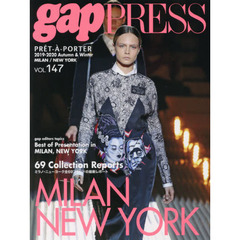 2019-2020 A/W gap PRESS vol.147 (gap PRESS Collections)  MILAN,NEW YORK COLLECTIONS