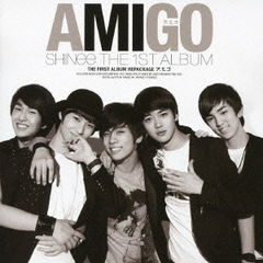 THE FIRST ALBUM REPACKAGE AMIGO ア.ミ.ゴ(DVD付)
