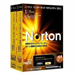 Norton Internet Security 2011 2コニコパック (PCソフト)