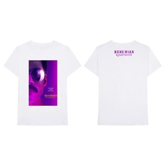 映画『ボヘミアン・ラプソディ』 Bohemian Rhapsody Movie T-Shirt White M