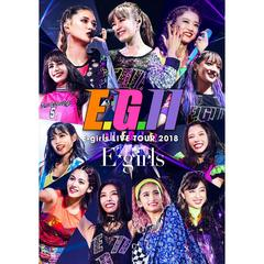 E-girls/E-girls LIVE TOUR 2018 ~E.G. 11~ 初回生産限定盤【次回入荷予約】(Blu-ray Disc)