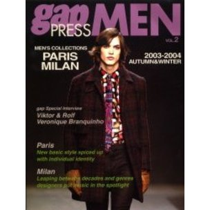 Gap press men Vol.2(2003-2004autumn & winter)