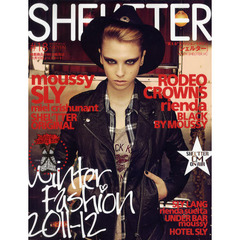 SHEL'TTER #18(2011-12WINTER) WINTER FASHION 2011-12 moussy/SLY/RODEO CROWNS/rienda/BLACK BY MOUSSY etc.