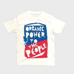 【FUJI ROCK'18】FRF'18 Organic Power T Mサイズ WHITE