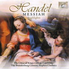 STEPHEN CLEOBURY/HANDEL : MESSIAH HIGHLIGHT(輸入盤)