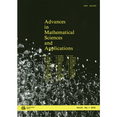 Advances in Mathematical Sciences and Applications Vol.27,No.1(2018)