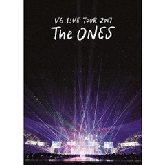 V6/LIVE TOUR 2017 The ONES<通常盤 初回仕様><先着予約購入特典「大判ポストカード(約A5サイズ)」付き>(Blu-ray Disc)