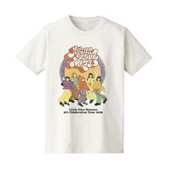Little Glee Monster/Monster Groove Party/ツアーTシャツ/ホワイト