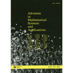 Advances in Mathematical Sciences and Applications Vol.27,No.2(2018)