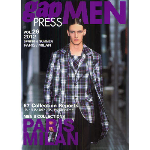 gap PRESS MEN vol.26(2012Spring & Summer)