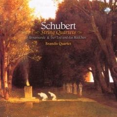 BRANDIS QUARTET/SCHUBERT : STRING QUARTETS(輸入盤)
