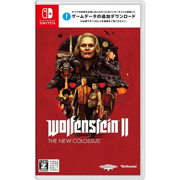 Nintendo Switch Wolfenstein II: The New Colossu