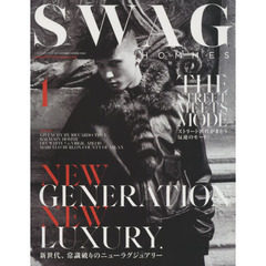 SWAG HOMMES vol.1(2015 AUTUMN/WINTER ISSUE) NEW GENERATION NEW LUXURY.