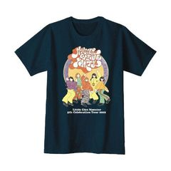 Little Glee Monster/Monster Groove Party/ツアーTシャツ/ネイビー