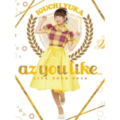 井口裕香/2nd LIVE TOUR 2016 az you like...(Blu-ray Disc)