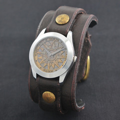 今井麻美 × Red Monkey Designs Collaboration Wristwatch MEN'S(Lサイズ) / CHOCO(2次入荷予約分)
