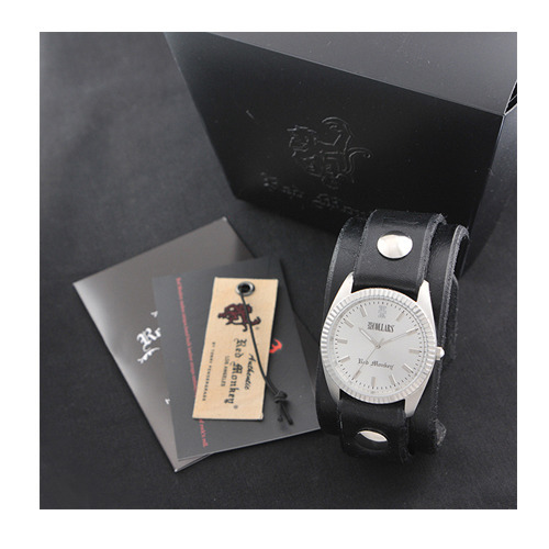 村田将五 × COLLARS × Red Monkey Designs WristWatch The Classic / Black Limited Edition