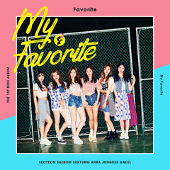 FAVORITE/1ST MINI ALBUM : MY FAVORITE(輸入盤)