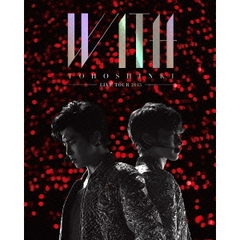 東方神起 LIVE TOUR 2015 WITH <初回生産限定盤/Blu-ray 2枚組><外付け特典なし>(Blu-ray)