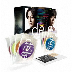 "dele(ディーリー) Blu-ray PREMIUM ""undeleted"" EDITION<予約購入特典:「dele」オリジナル ネックストラップ付カードホルダー付き>(Blu-ray Disc)"