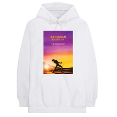 映画『ボヘミアン・ラプソディ』 Sunset Bohemian Rhapsody Movie Hoodie White S