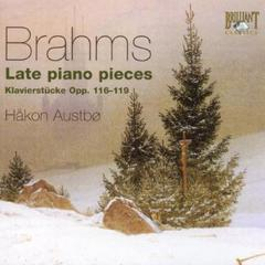 HAKON AUSTBO/BRAHMS : LATE PIANO PIECES(輸入盤)