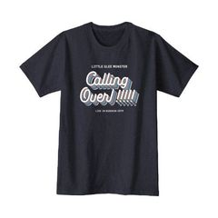 Little Glee Monster/Calling Over Tシャツ~半袖編~/ツアーT/ネイビー/XL